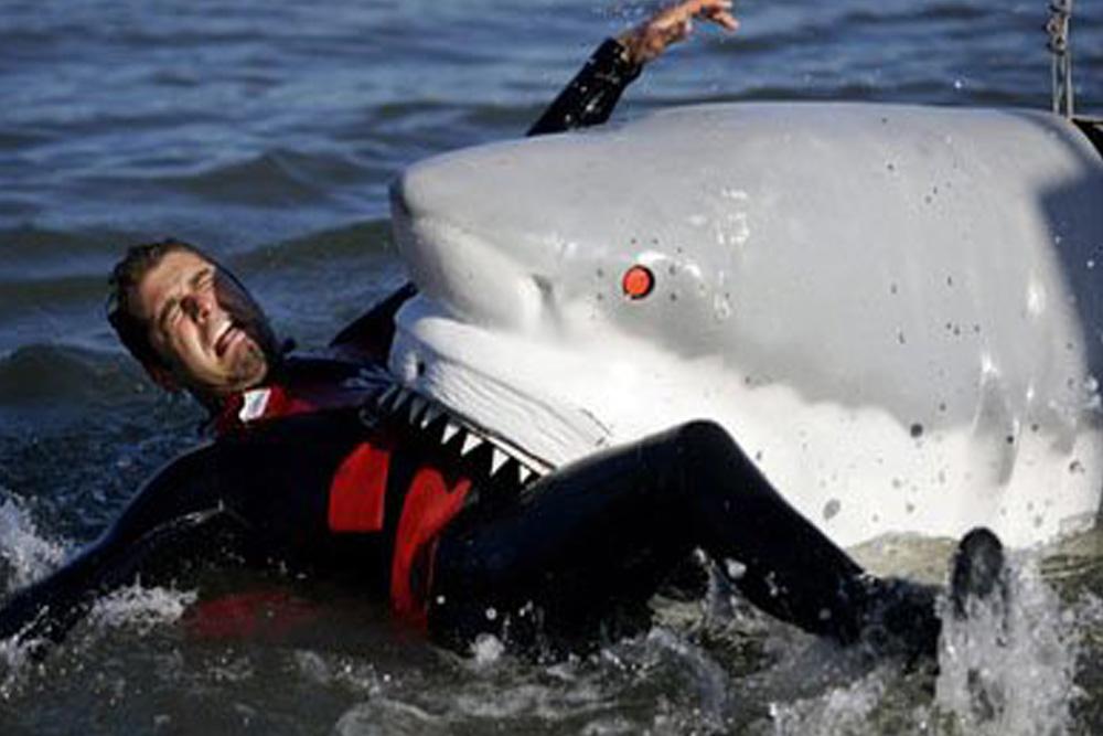 White Shark Bite Force Ryan Johnson