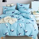 Kids Shark Comforter Set (100% Cotton)