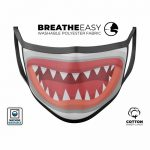 PPE Face Mask – Shark Bite design